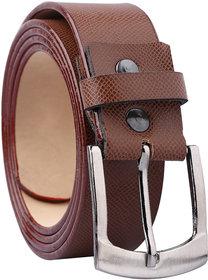 Fashno Leatherite Tan color Belt