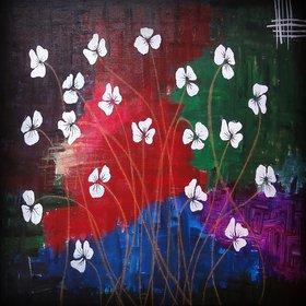 are morden art flower