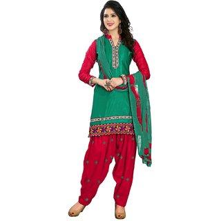 Shopping Queen Voguish Semi-Stitched Patiyala Suit