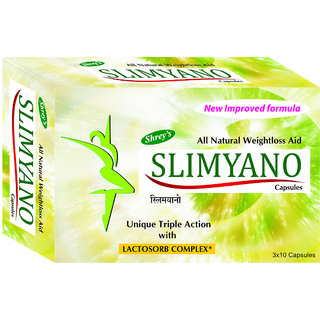 Shreys Slimyano for Weight Loss (Chitosan  EGCG from Green Tea)