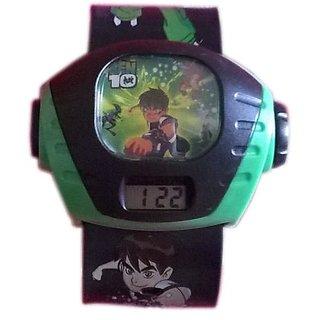 Ben 10 Projection Watch Black