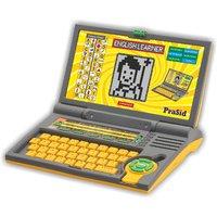 Prasid English Learner Kids Laptop 20 Activities Yellow