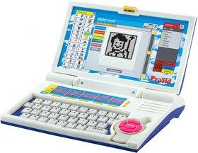 Prasid English Learner Kids Laptop 20 Activities Blue