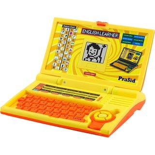 Prasid English Learner Kids Laptop 20 Activities Lemonorange