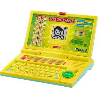 Prasid English Learner Kids Laptop 20 Activities Lemonsky