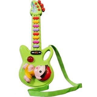 Prasid Green Mini Guitar