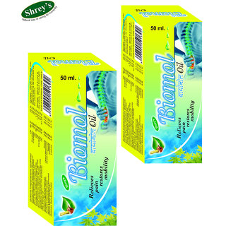 Biomol Oil for Pain Relief (2 Box)
