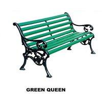 Green Queen Garden Bench