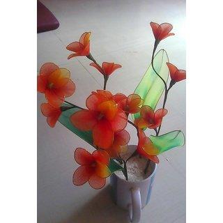 Hand Made Nylon Flower