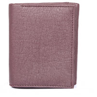 FEDRIGO Brown 3 fold wallet