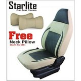 VW Polo - Branded Car Seat Covers- Art Leather- Starlite- With Free Neckrests Worth Rs 599/