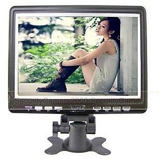Portable 9.5 LCD Tft Monitor Screen TV AV USB Photo Frame Wall Mountable