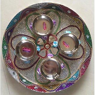 Disegner Puja Thali