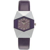 Florence FL-PUR-F-054 Purple Dial Analog Watch For Women