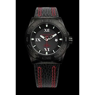 Android Antiforce AD698BKK 48MM Automatic Black Dial Men's Black Leather Watch