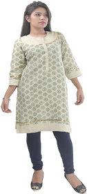 Saara Fashions Chanderi cotton Kurti