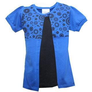 Kidsmasthi Blue colour Double layered Tee