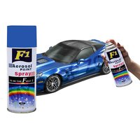 F1 Aerosol Spray Paint Blue 450ml - Car/bike Multi Purpose