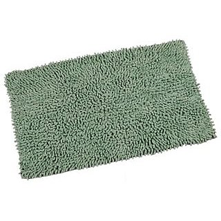 Foxy Belle Maison 100% Cotton Beautiful Bath Mat, Green