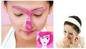 Resin Eyebrow Shaping  Shading  Stencil Make Up Tool (Set of 1)
