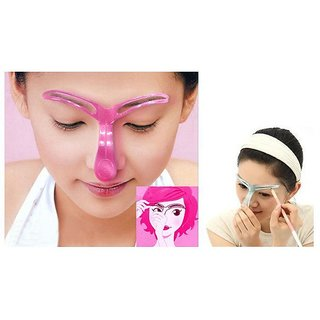 Resin Eyebrow Shaping  Shading  Stencil Make Up Tool (Set of 1)