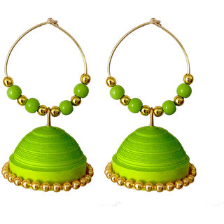 Handmade Paper Jewellery/Quilled Earings 101
