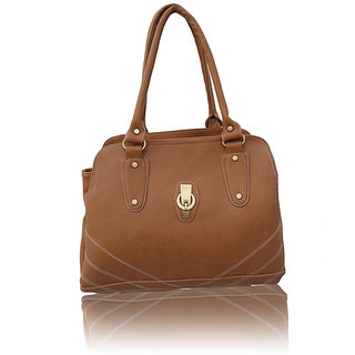 Redfort Stylish Beige Designer Handbag