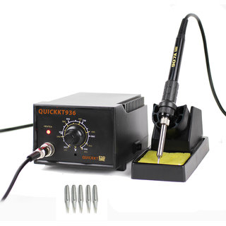 Quick Kt 936 Commercial Temperature Controlled Soldering Station 55W With Extra