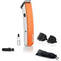 Nova Cordless NHT 1045 Trimmer For Men (Orange)
