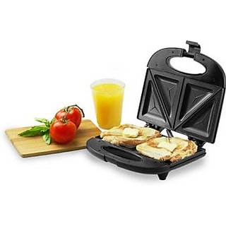 Nova 2 Slice Snack Magic Nsm 2409/00 Sandwich Maker(Black)