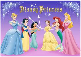 10 am Princess Clock - Canvas