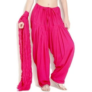 New Stylish 100 Cotton Patiala Salwar With Dupatta