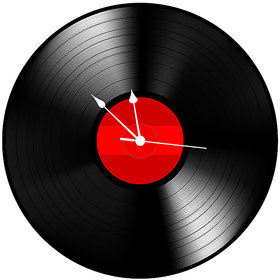 10 am Record Clock