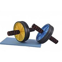 Set OF 2 Exercise Wheel For Ab And Upper Body Workout