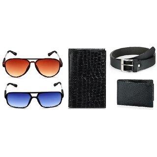 d98fce8205d Buy Rico Sordi Accessories For Men (RSSG16744+NORMAL BELT+NORMAL ...