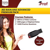 JEE Main And Advanced Premium Pack On Pen Drive