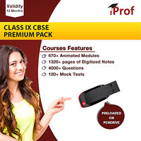 Class 9th CBSE Premium Pack On Pen Drive