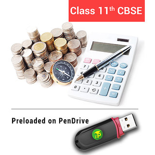 Class 11 (Commerce) CBSE Premium Pack On Pen Drive