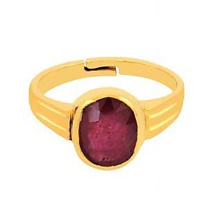 Avaatar Religious 7.25 Ratti Ruby Gemstone Ring