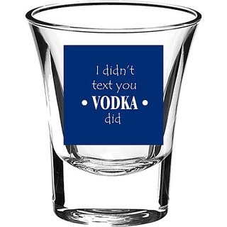 10 am I didn't text you Shot Glass - set of 2