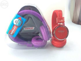 SONILEX SUPER BASS FOLDABLE STEREO HEADPHONE