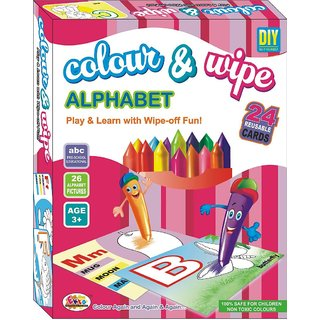Ekta Colour  Wipe Alphabet Play And Learn