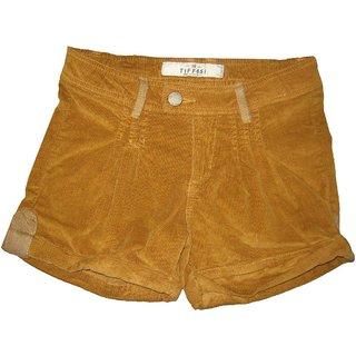 Girls Shorts In Corduroy Fabric