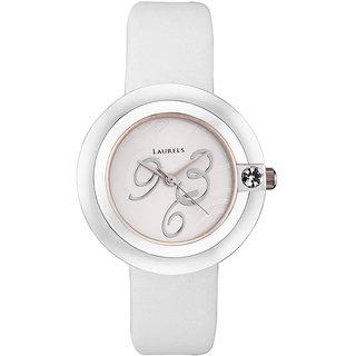 Laurels Women's Watch LL-Pr-White