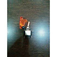 Imported Yellow Toggle Switch with Aircraft Safety Cover
