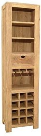 NEW WAVE WINE RACK 1 DRAWER 12 BOTTLE
