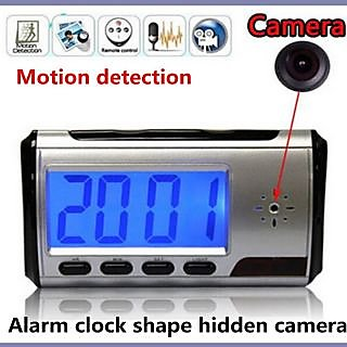Spy Table clock HD with Remote