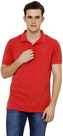 Knitted Collar Polo