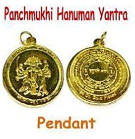 Gold Plate Panchmukhi Hanuman Kavach