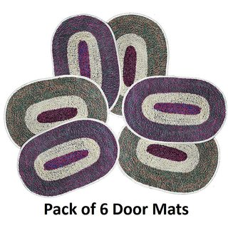 Pack Of 6 Door Mats